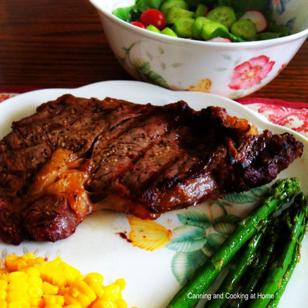 The Best} Grilled Steak - Canning and Cooking at Home