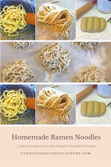 Homemade Ramen Noodles